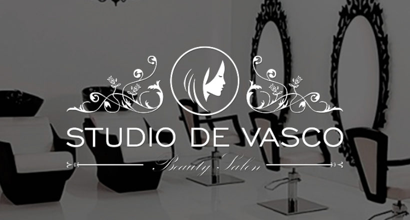 Creating a logo for the beauty salon Studio De Vasco
