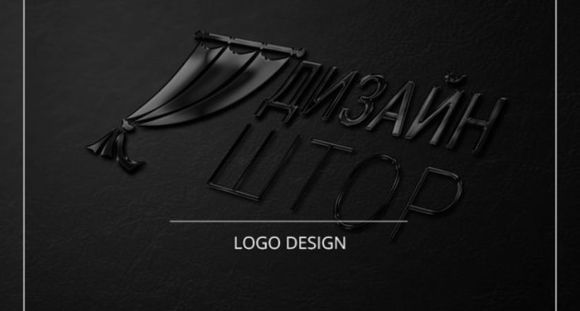 Logo design for curtains online store